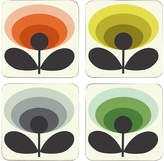 Orla Kiely 70s Oval Flower Coasters
