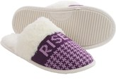Life is Good Houndstooth Scuff Slippers (For Women)