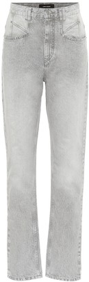 Isabel Marant Dominic high-rise straight jeans