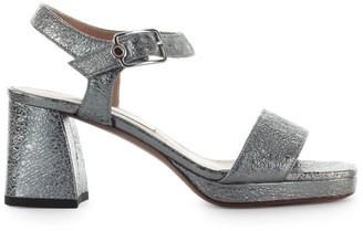 L'Autre Chose Lautre Chose Steel Leather Sandal