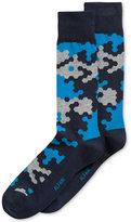 Alfani Men's Abstract Hex Socks, Created for Macy's