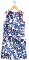 Milly Minis Girls' Floral Print Dress