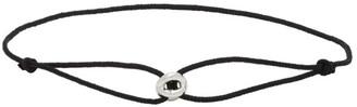 Le Gramme Black Maillon Cord Bracelet