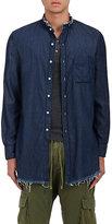 NSF Men's Dune Cotton Shirt-BLUE