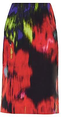 Carolina Herrera Women's Floral Pencil Skirt - Size 0