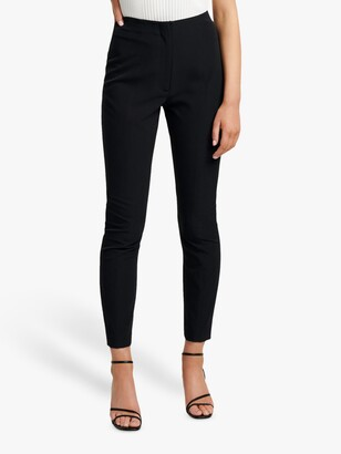Forever New Dana Power Stretch Trousers, Black