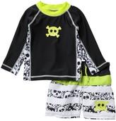 Koala Baby Crossbone Rashguard 2-Piece Swim Set (Baby Boys 9-24M)