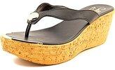 Callisto Women's Button Wedge Sandal