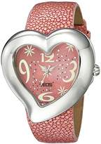 EOS New York Women's 35SPNK Sweetheart Stingray Strap Watch