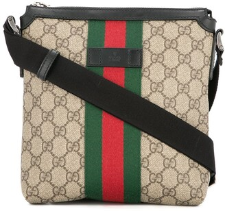 Gucci Pre Owned GG Shelly Line cross body shoulder bag
