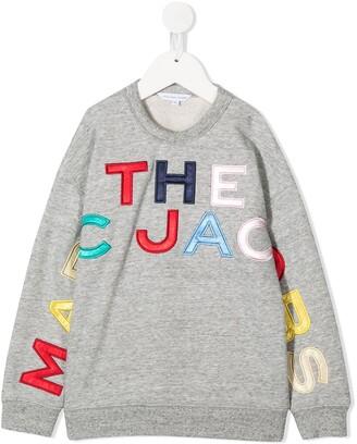 Little Marc Jacobs Logo Patch Sweatshirt