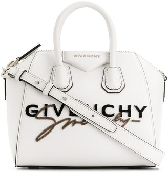 Givenchy mini Antigona logo tote bag