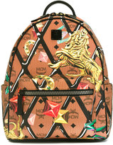 MCM printed backpack