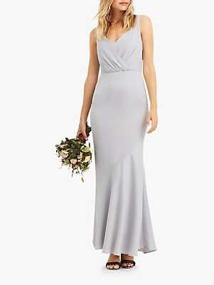 206d70048f0b2 Oasis Slinky Wrap Over Slinky Maxi Dress