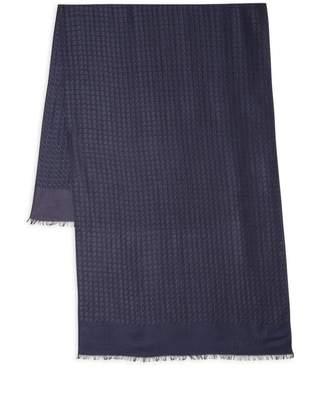 Lanvin Wool & Silk Fringe Scarf