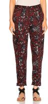 Etoile Isabel Marant Janelle Printed Cotton Pants