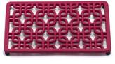 ODI HOUSEWARES Pinkberrie Rectangular Deco Trivet