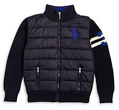 Ralph Lauren Polo Boys' Hybrid Jacket - Little Kid