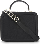 Aldo Olilisien snake-embossed cross-body bag