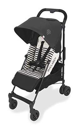 Maclaren Quest Arc Stroller- ideal for newborns up to 25kg with extendable UPF 50+/waterproof hood, multi-position seat and 4-wheel suspension. Carrycot compatible. Accessories in the box