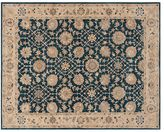 Pottery Barn Madeline Persian Rug - Blue Multi
