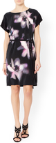 Monsoon Gabrielle Silk Front Printed Dress