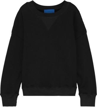 Simon Miller Printed French Cotton-terry Sweatshirt