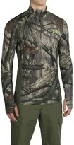 Under Armour ColdGear® Infrared Armour Scent Control Shirt - Zip Neck, Long Sleeve (For Men)