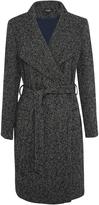 Oxford Arnella Boucle Coat Blu/Gry X