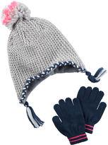 Carter's Metallic Hat & Glove Set