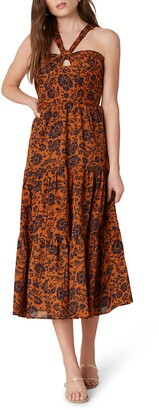 BB Dakota Batik a Peek Floral Dress