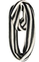 Paula Bianco Open Knit Circle Scarf