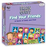 Brain Quest Find Your Friends Game