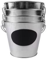 Nobrand No Brand Spritz Pail Galvanized Chalk Label 4 CT