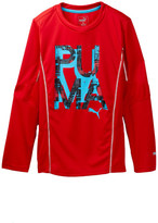 Puma Long Sleeve Top (Big Boys)