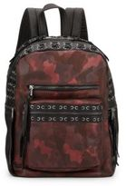 Ash Billy Small Leather Camo Backpack