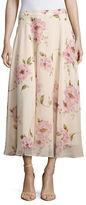 Lucy Paris Floral Midi Skirt