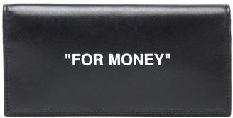 Off-White Off White Quote leather wallet