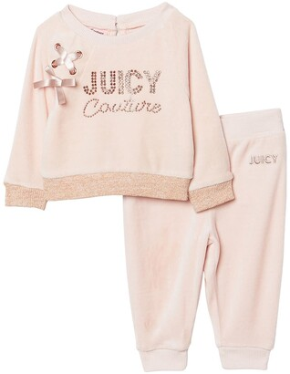 Juicy Couture Baby Girls Tracksuit