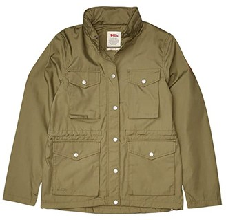 Fjallraven Raven Lite Jacket (Green) Women's Clothing