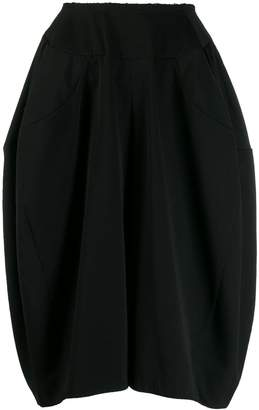 Comme des Garcons oversized knee-length shorts