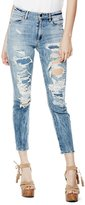 GUESS High-Rise Flower Child Jeans