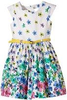 Happy Girls Girl's Dress - Green -