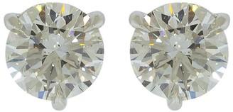 Kwiat Round Diamond Studs 3.01ctw