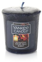 Yankee Candle CRISP FALL NIGHT Sampler Votive Candle 1.75 oz
