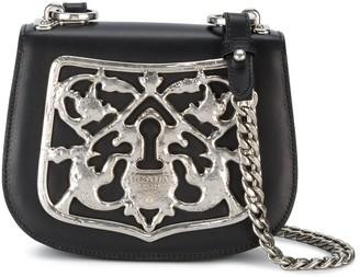 Prada Piastra Metal Filigree crossbody bag