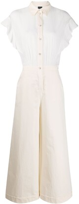 Pinko Buttoned Flared Jumpsuit