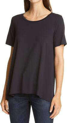 Eileen Fisher High/Low T-Shirt