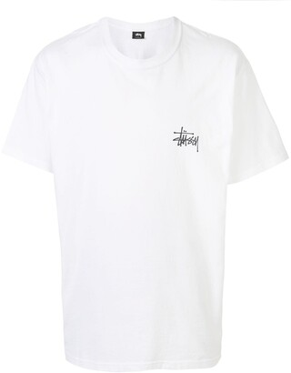 Stussy logo printed cotton T-shirt