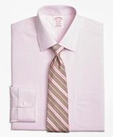 Brooks Brothers Madison Classic-Fit Dress Shirt, Non-Iron Tonal Sidewheeler Check